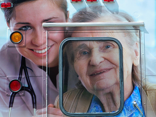 The elderly care business is on the rise.