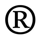 This is the Registered Trademark symbol. It can only be used after the trademark has been registered with the USPTO (US Patent and Trademark Office)